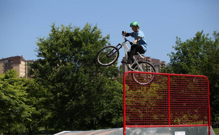 El Parque Europa estrena nueva pista de roller