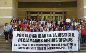 El 43,51% de los jueces y fiscales de Euskadi han secundado la jornada de paro