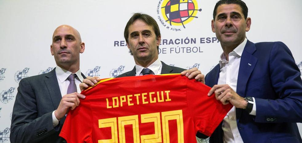 Lopetegui renueva hasta la Euro 2020