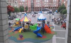 Leioa instalará cubiertas de estética forestal en dos parques infantiles
