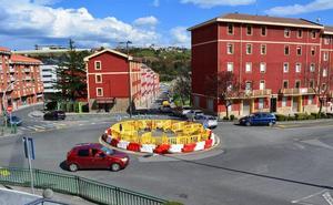 Trapagaran consolida la rotonda entre Primero de Mayo y Funikular para dar fluidez al tráfico