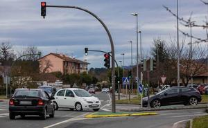 Movilizaciones en Muntsaratz por una rápida retirada de los semáforos de la N-636