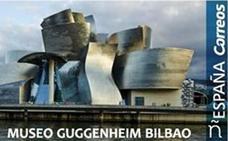 Correos dedica un sello al Museo Guggenheim