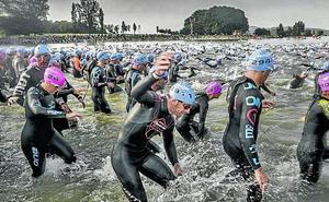 Vitoria blinda el patrocinio del triatlón internacional hasta 2020