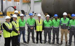 La planta de Haizea Wind en el Puerto de Bilbao ya es una realidad