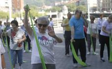 Los mayores bilbaínos se marcan un gran baile