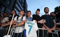 Kiev comienza a vestirse de blanco