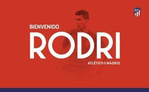 El Atlético oficializa la llegada de Rodri