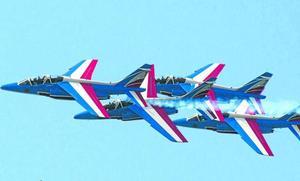 Una exhibición militar en Biarritz obliga a desviar un vuelo a Loiu