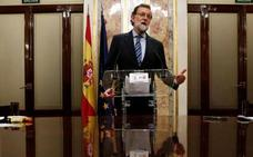 Rajoy dice que no está dispuesto a diferenciar entre nacionalidad y ciudadanía vasca, según el pacto de PNV y Bildu