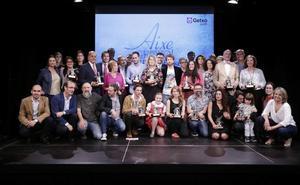 Aixe Getxo! reconoce la labor de los artistas y las iniciativas culturales del municipio