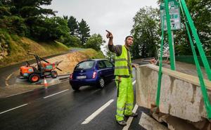 Mundaka mejorará la seguridad vial entre el cementerio y la variante con tres semáforos