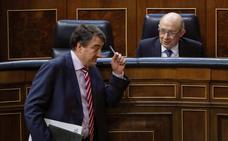 La moción de censura puede poner en riesgo los 540 millones pactados para Euskadi por PNV y PP