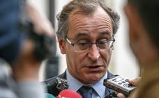 «El que la hace la paga con dureza», dice Alfonso Alonso sobre la sentencia de la 'Gürtel'