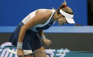 Muguruza: «Quizá juego mejor en los Grand Slam»