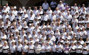 1.000 vizcaínos cantarán en Galdakao en el Día Coral