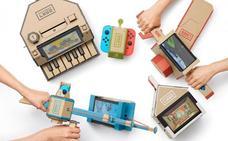 Nintendo Labo Kit Variado: entre cartones anda el juego