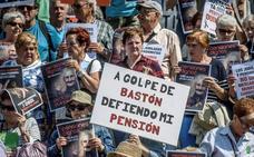 Los pensionistas mantienen el pulso y esperan una marcha masiva hoy en Bilbao