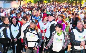 El Vital Eguna arranca con una marcha nocturna solidaria con 500 participantes