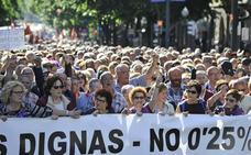 Bilbao lucha por las pensiones