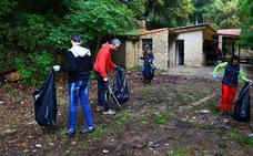 San Juan del Monte acoge el último acto con la tradicional limpieza