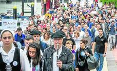 El Ibilaldia llama desde Santurtzi a que el euskera se haga fuerte en las ciudades