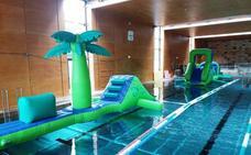 Las piscinas de Landako acogerán un parque acuático infantil dos sábados al mes