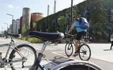 Un choque entre una bici y un patinete tasado en 137.000 euros en Vitoria