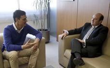 Sánchez llamó anoche a Ortuzar para pedirle su apoyo a la moción de censura