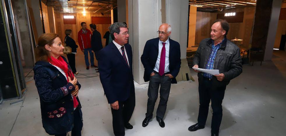 Giafys avanza en la obra de su gimnasio, pendiente de conseguir otros 60.000 euros