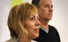 Miren Larrion y Kike Fernández de Pinedo, candidatos de EH Bildu para las elecciones municipales y forales de 2019