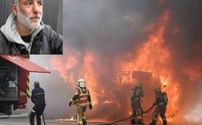 «Si tardamos dos minutos más en sacarle, el chófer arde con el camión»