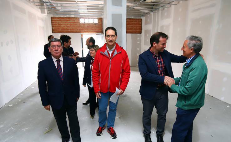 Gifays avanza en la obra de su gimnasio, pendiente de conseguir otros 60.000 euros