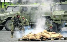 El cuartel de Mungia forma a los militares españoles que partirán en la nueva misión a Irak