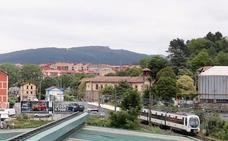 Las instituciones planean llevar la línea de Euskotren al centro de Galdakao por un túnel