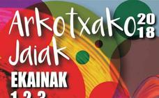 Programa de fiestas Arkotxako Jaiak 2018 (Zaratamo)