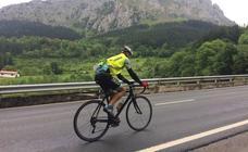 El ciclista que subió Urkiola 52 veces seguidas