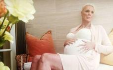 Brigitte Nielsen, embarazada a los 54 años