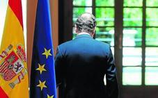 Rajoy fio su futuro a los empresarios