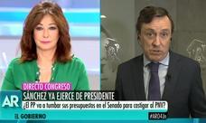 Ana Rosa sugiere que los 540 millones de inversiones en el País Vasco vayan «a Extremadura o Andalucía»