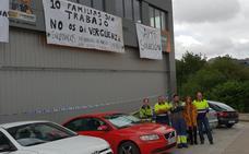 Los trabajadores de una empresa de Santurtzi se encierran para evitar su desaparición