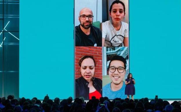 "Videollamadas grupales en WhatsApp :: MEDIOS"""