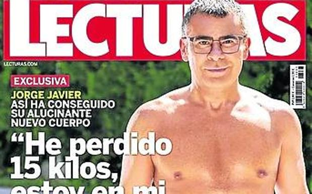 El espectacular cambio físico de Jorge Javier Vázquez