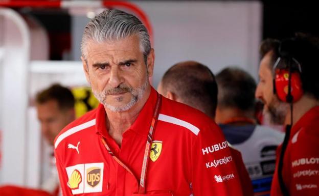 Maurizio Arrivabene será reemplazado al frente del equipo Ferrari