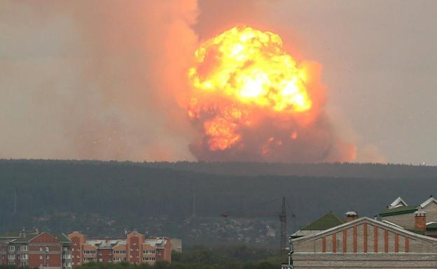 Mundo: Confirma Rusia explosión en pruebas en base militar