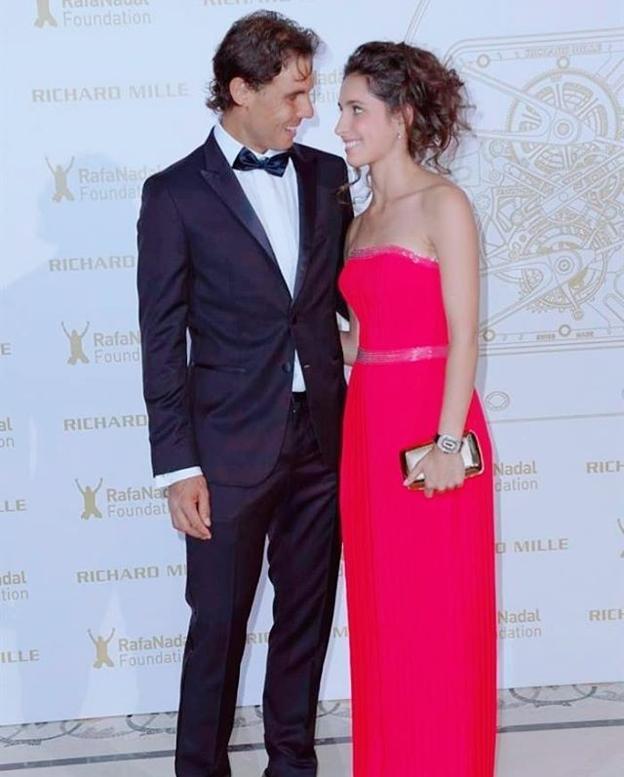 Primeras imágenes de Rafa Nadal y su ya mujer Maria Francisca Perelló