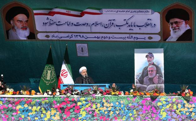 Irán eligió independencia con la revolución islámica, dice presidente
