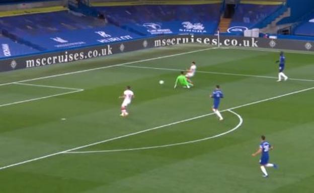 Un nuevo error de Kepa le cuesta el empate al Chelsea