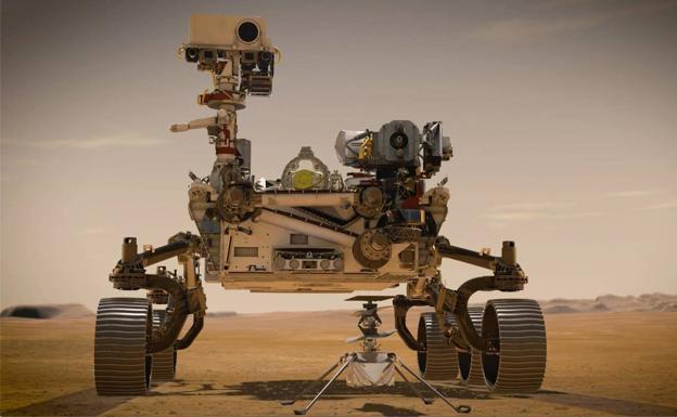 El robot Perseverance de la NASA aterriza con éxito en Marte