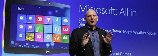 Windows 8, un sistema operativo con alma de tableta